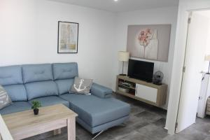 A seating area at Torrevieja, 3 bedroom apartment