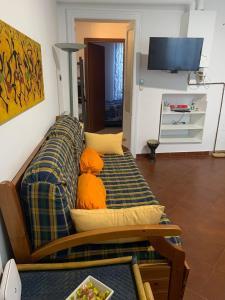 A seating area at Casa Marugi