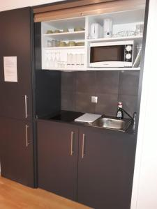 A kitchen or kitchenette at Ribasol Ski & Montalegre Park