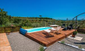 The swimming pool at or close to Villetta Toscana - Montepulciano