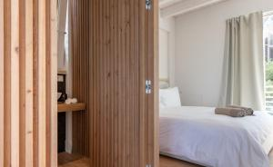 Iancu Charme Apartmentsにあるベッド
