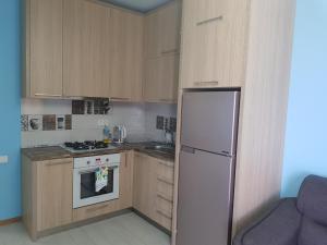Кухня или мини-кухня в 1stBatumi Gorizont