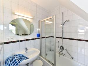 Ein Badezimmer in der Unterkunft Ferienwohnungen Meyer