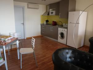 Küche/Küchenzeile in der Unterkunft La Portuguesa Apartments