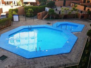View ng pool sa Duplex beach, 2 bedrooms, terrace & pool o sa malapit