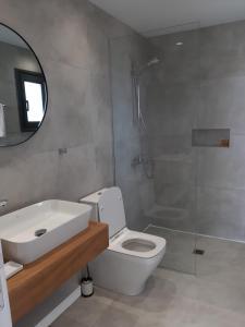 Ein Badezimmer in der Unterkunft Terrazza Suites