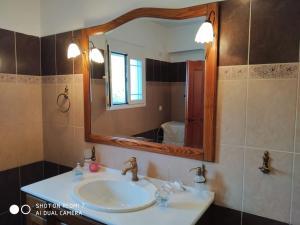 A bathroom at Marina's Home