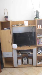 A television and/or entertainment center at Montenegro Apartment Baošići