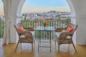 A balcony or terrace at Bab el Oued Villa Ibiza