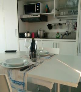 Küche/Küchenzeile in der Unterkunft Residence La Nave