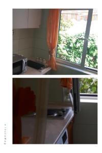 A kitchen or kitchenette at Apartments Miljevic