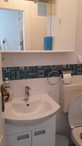 A bathroom at Apartments Marina