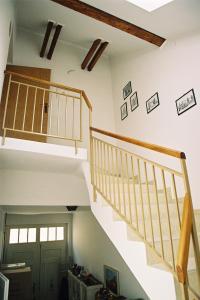 Poschodová posteľ alebo postele v izbe v ubytovaní Apartmán Silvia