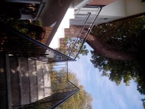 Un balcon sau o terasă la Panagiotis Apostoloudias Rooms