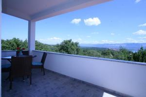 A balcony or terrace at Villa Roze