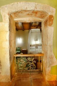 Küche/Küchenzeile in der Unterkunft Palazzo di Pietro