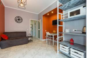 Гостиная зона в Apartment on Medikov