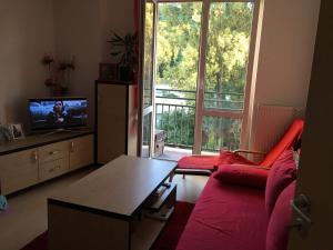 Posedenie v ubytovaní 2 izbový byt