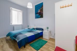 Cama o camas de una habitación en CASA SIERRA. CASONA DE 1893. CASA CARRE