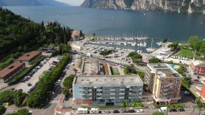 Vista aerea di Residence Centro Vela