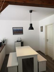 Küche/Küchenzeile in der Unterkunft Kaisershofer Rabennüst