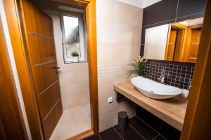 Koupelna v ubytování U Ořecha