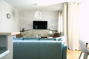 Postel nebo postele na pokoji v ubytování Siesta Apartments