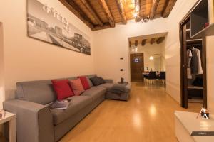 Area soggiorno di DeTillier53 - Alp Apartments