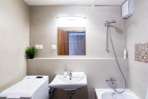 Ein Badezimmer in der Unterkunft Vagabond Corvin