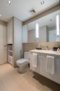 A bathroom at Citadines Salcedo Makati