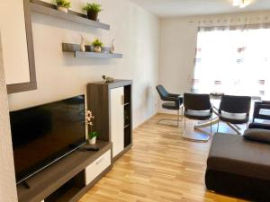 A television and/or entertainment center at Apartment Markus Neunkirchen City