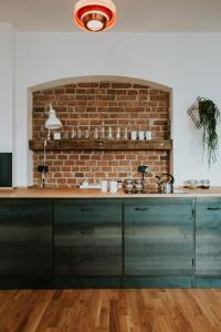A kitchen or kitchenette at Projekt Piekary