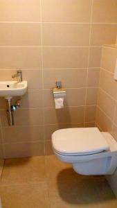 Een badkamer bij Flats Verrebroek
