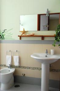 A bathroom at Latt e Liett