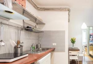 Cucina o angolo cottura di 5 Borgo San Jacopo