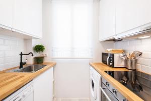 Küche/Küchenzeile in der Unterkunft Genteel Home Atocha