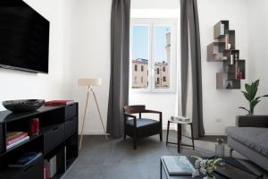 A seating area at Ambio Suite Luxury Trastevere