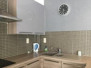 A kitchen or kitchenette at Residentie Casino Kursaal