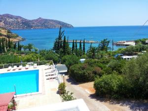 A view of the pool at Dimitra Apartments or nearby