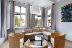 A seating area at Sopockie Apartamenty - Studio 2