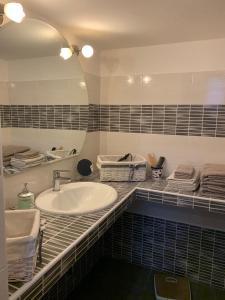 A bathroom at Casa Marugi