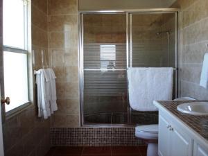 A bathroom at Ocean Terrace Condominiums