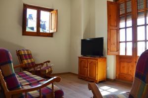 Una televisión o centro de entretenimiento en Cardona Fira