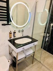 Vonios kambarys apgyvendinimo įstaigoje SZEWSKA 22 BOUTIQUE