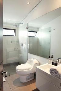 A bathroom at BOGO - 64
