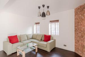 Ein Sitzbereich in der Unterkunft Perfect apartment for 6 in the heart of London!