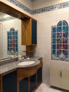 A bathroom at Apartment Wiemer - Haus Silent