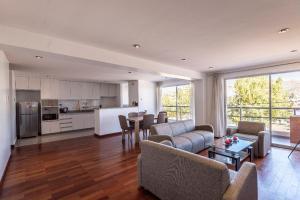 Zona de estar de El Triunfo Apartments