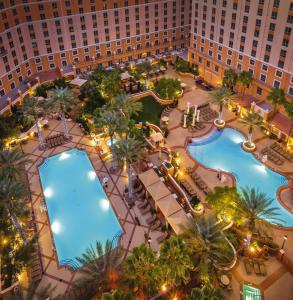 A view of the pool at Wyndham Grand Desert or nearby