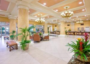 The lobby or reception area at Wyndham Grand Desert